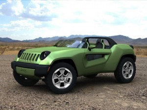 Jeep electric concept