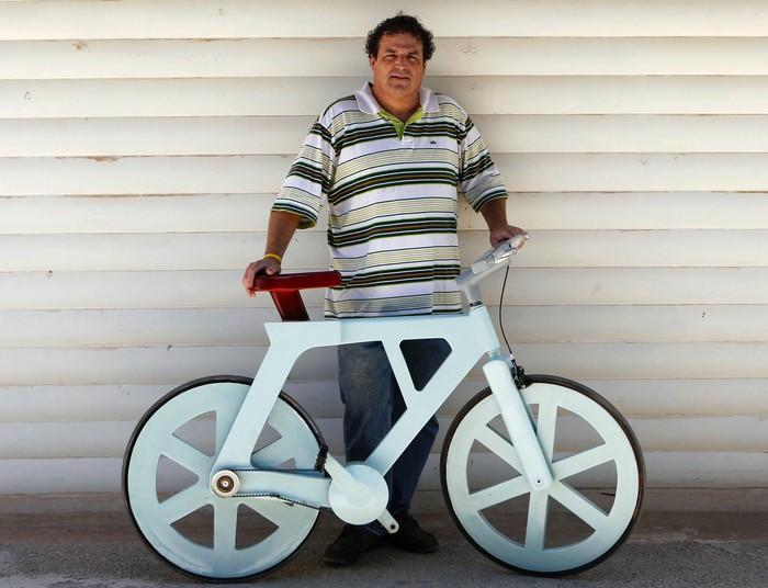 Бумажный велосипед за 9 баксов