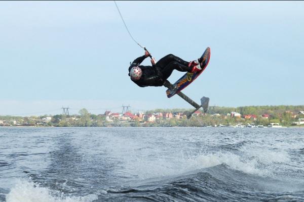Чемпионат России по катерному вейкборду на озере Инышко
