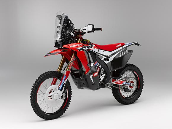 Honda для Дакара