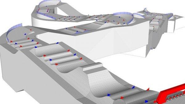 Представлена олимпийская трасса для сноуборда в Сочи