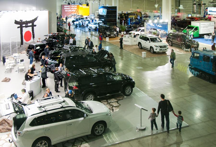 Выставка «Вездеход» прошла в МВЦ «Крокус Экспо»