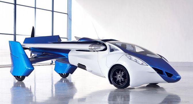 AeroMobil 3.0 – первый полет (видео)