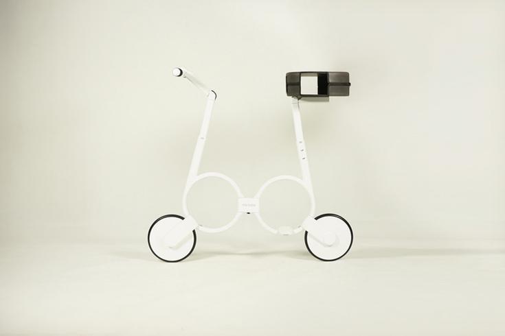 Складной компактный велосипед Impossible