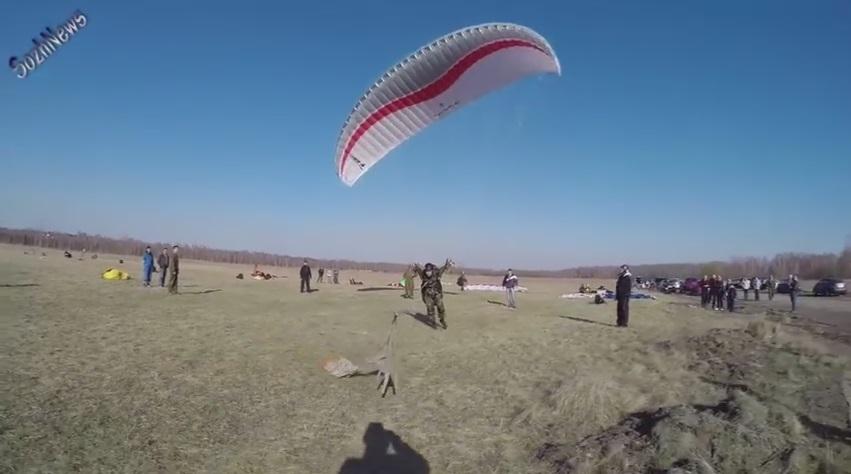 Соревнования белорусских парапланеристов