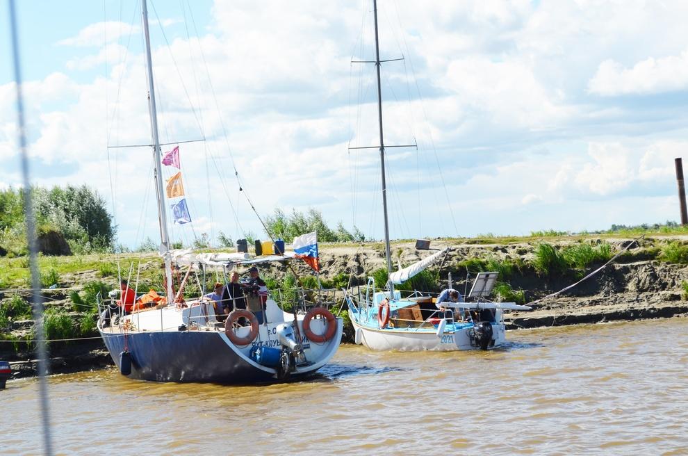 Экстремальное путешествие на яхтах
