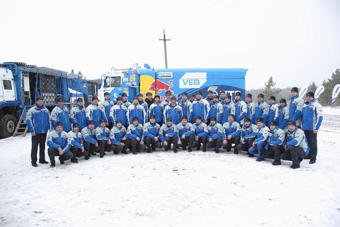 «КАМАЗ-мастер» поехал на «Дакар»