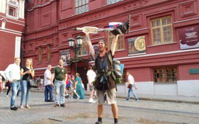 Из Санкт-Петербурга в Москву на самокате