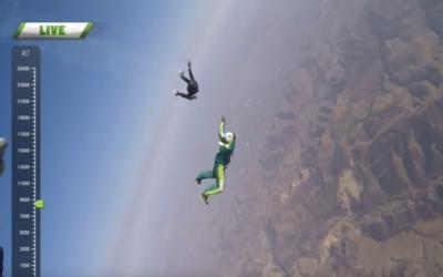 Экстермал Люк Эйкинс прыгнул из самолета без парашюта