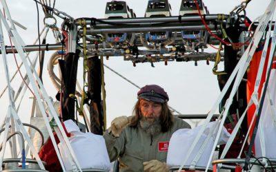 Федор Конюхов совершил кругосветный перелет на воздушном шаре