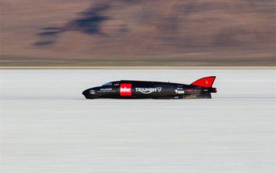Новый рекорд скорости для Triumph