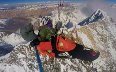 Француз пролетел над вершиной Броуд-пик на высоте более 8 километров