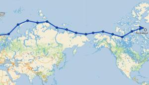экспедиция по Арктике на яхте