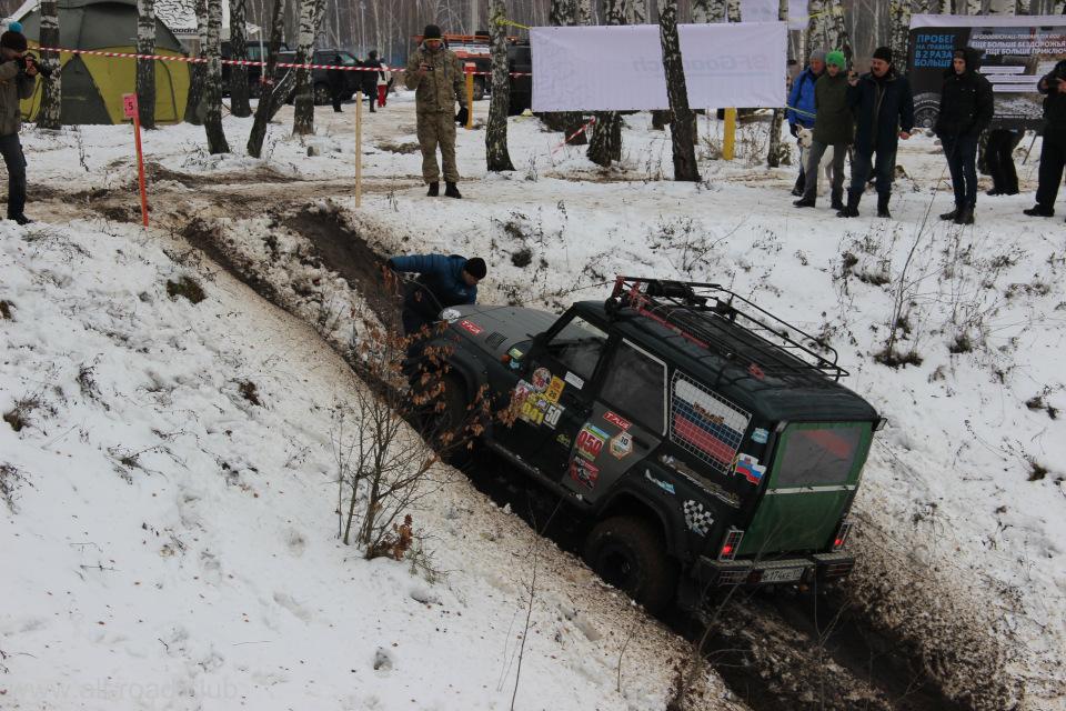 Четвертый этап соревнований по джип-триалу прошел в Подмосковье