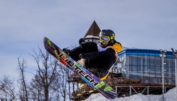 Соревнования по сноуборду завершились на VIII зимней Спартакиаде учащихся