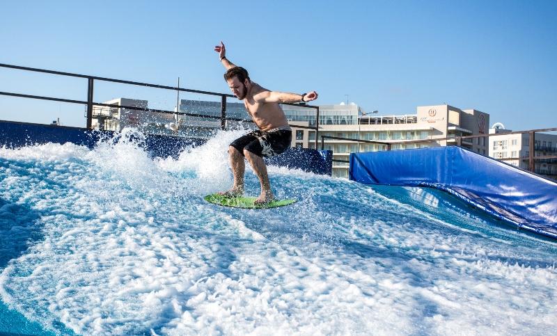 искусственная волна для серфинга