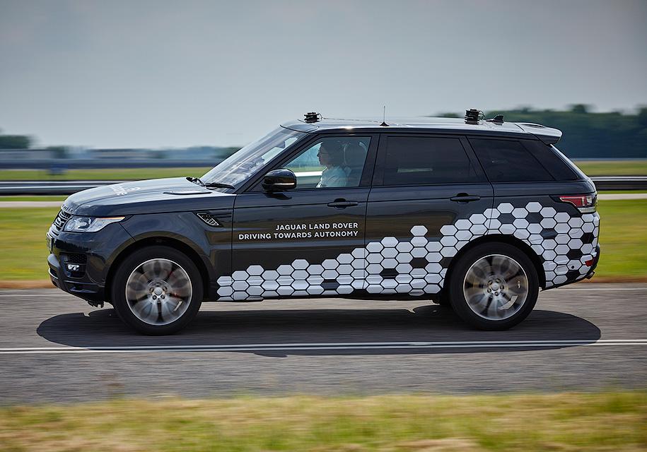 Представлен беспилотный Land Rover