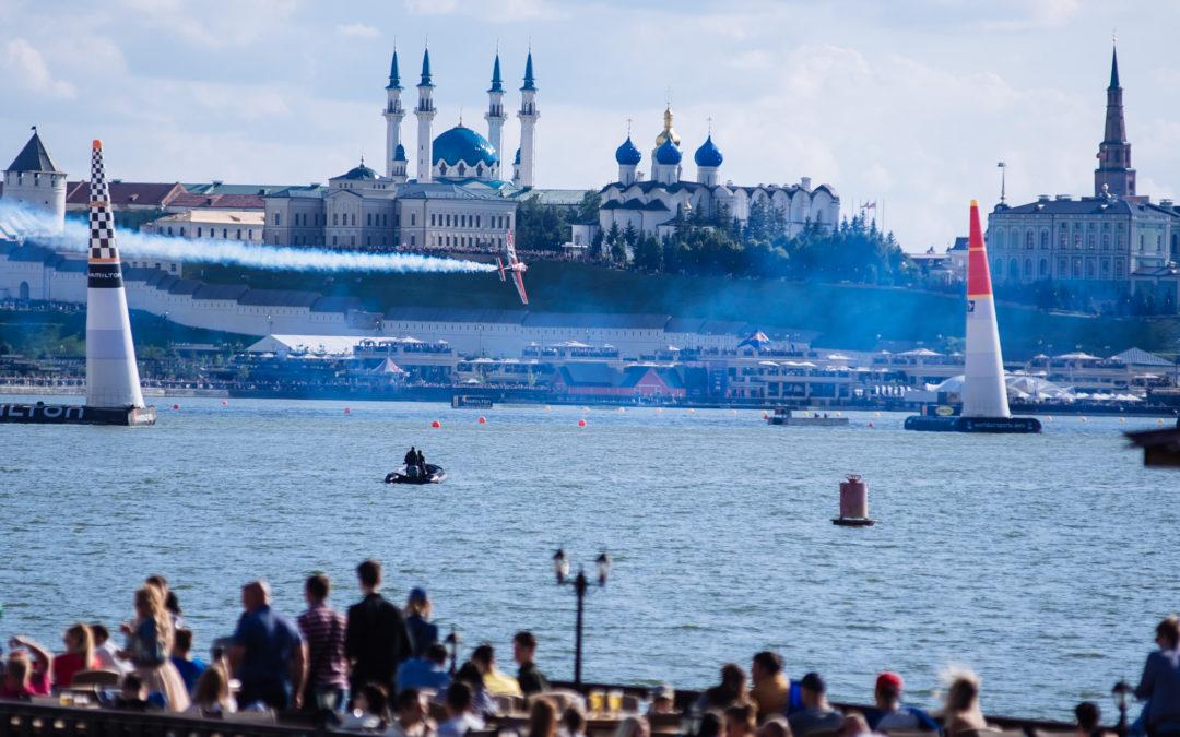 Авиагонки Red Bull Air Race прошли в Казани