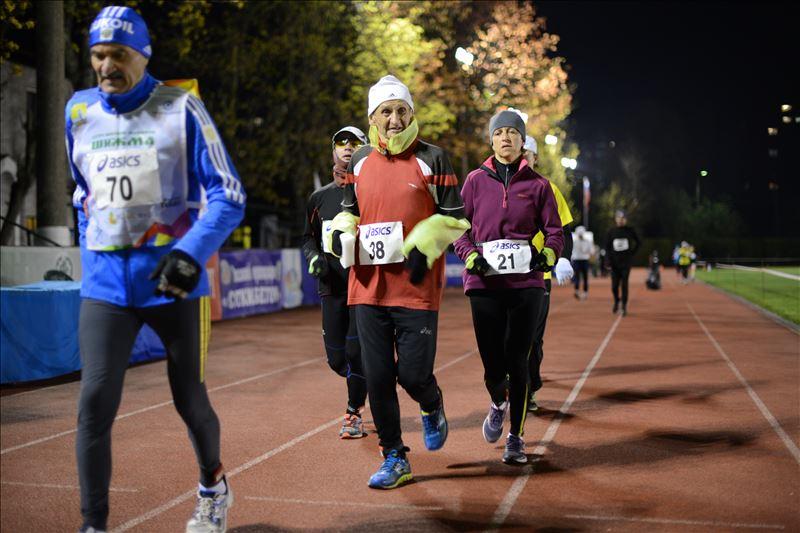 Соревнования по суточному бегу прошли в Москве