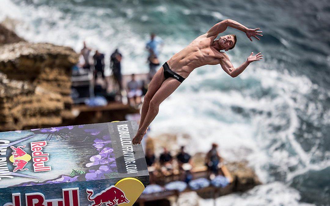 Международный чемпионат по клиф-дайвингу в Крыму