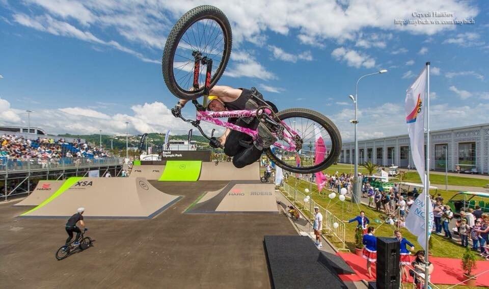 Чемпионат России по BMX-фристайлу прошел в Сочи