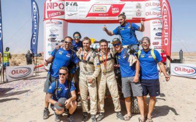 Сергей Карякин стал первым на этапе Кубка мира по ралли-рейдам Rallye du Maroc