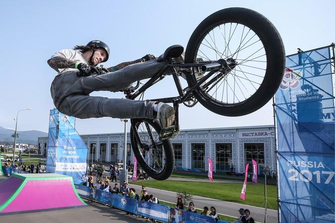 На Всемирном фестивале молодежи и студентов определили лучших в дисциплинах BMX
