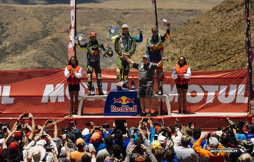 Гонка Roof of Africa завершает сезон 2017 года Red Bull Hard Enduro