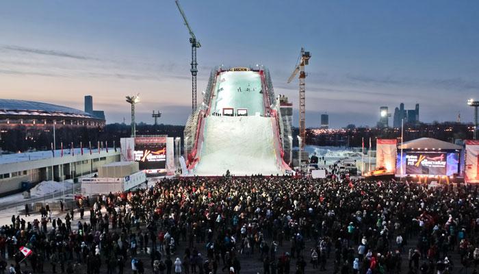 Этап Кубка мира по фристайлу прошел в Москве