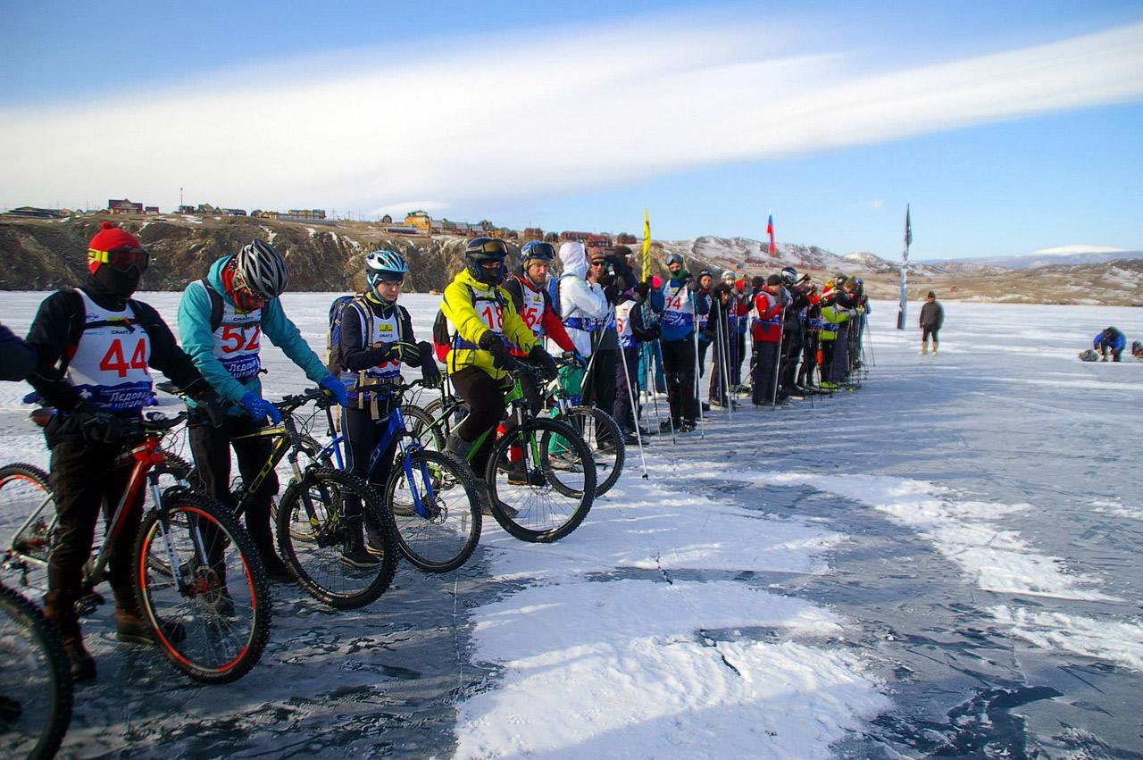 велогонка по льду