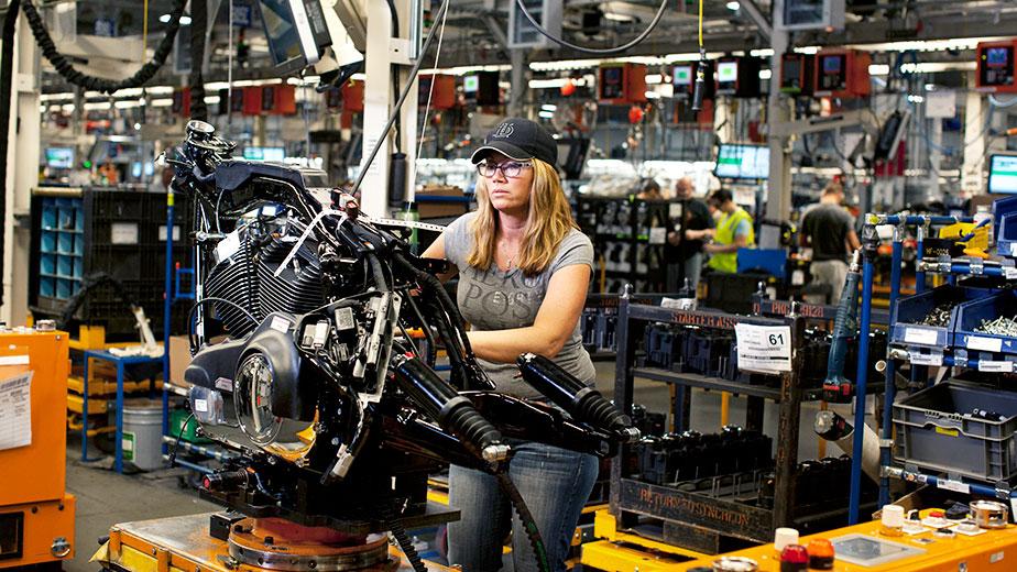 Harley-Davidson завод Канзас-Сити