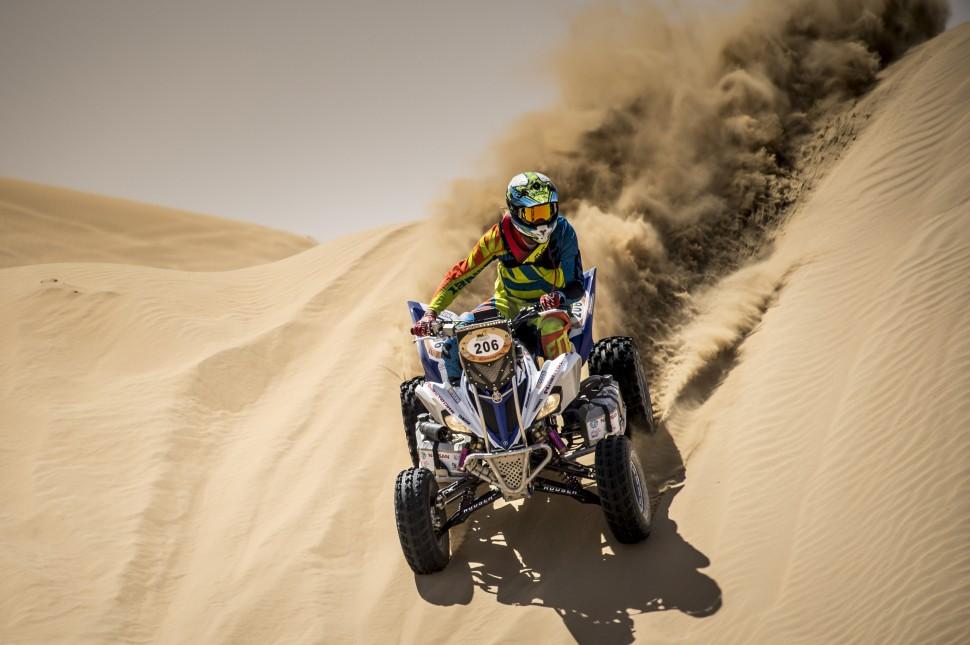 Александр Максимов стал третьим на Dubai International Baja 2018