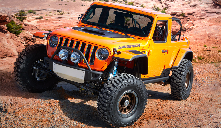 JeepВ®  Sandstorm (formerly Desert Hawk) concept