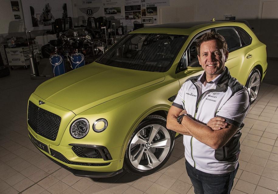 Bentley подготовила для гонки «Пайкс Пик» внедорожник Bentayga