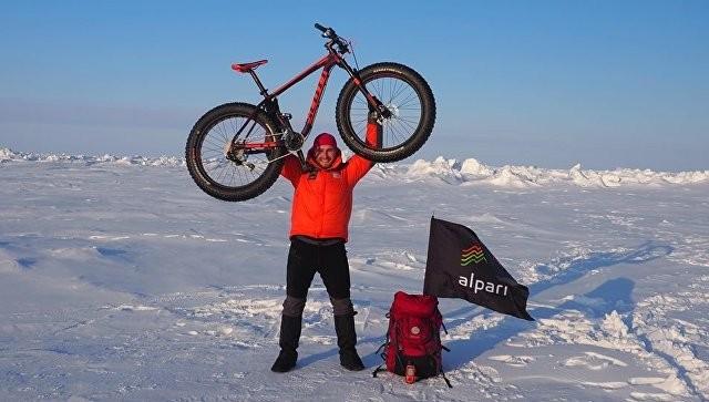 до Северного полюса на велосипеде