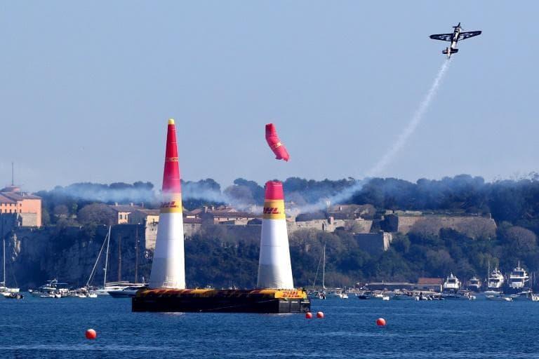 Этап Red Bull Air Race прошел в Каннах