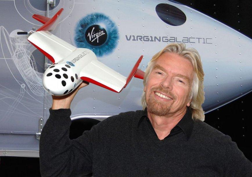Ричард Брэнсон собрался в космос
