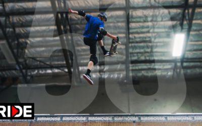 Тони Хоук выполнил 50 разных трюков на скейте в честь своего 50-летия