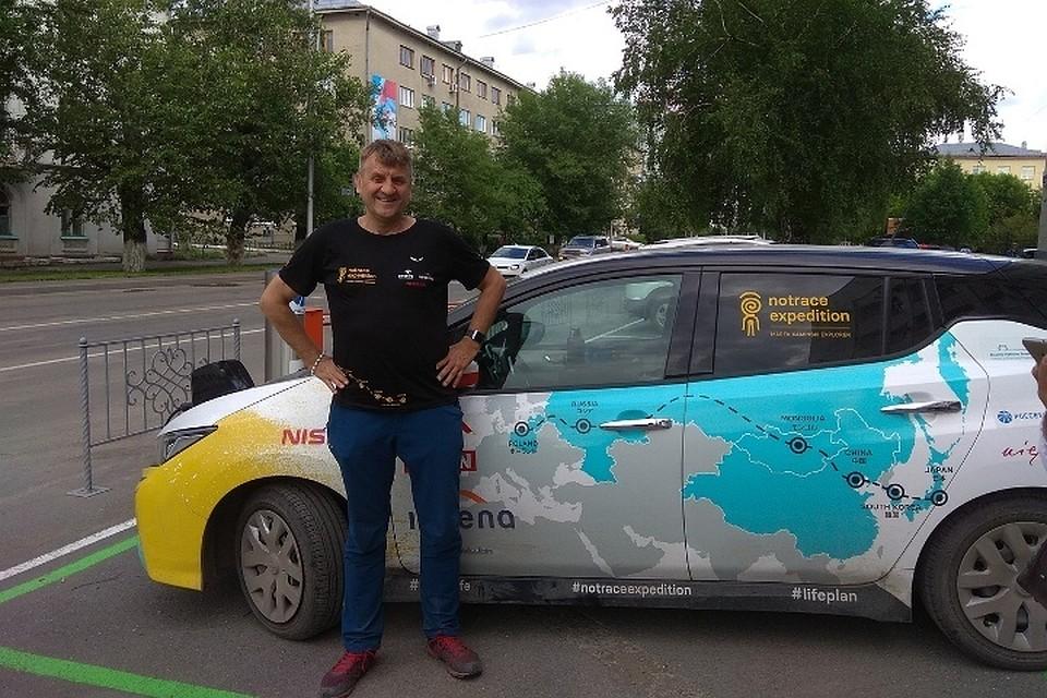 Из Польши в Японию на электромобиле