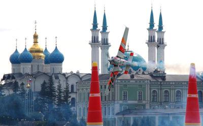 Чешский пилот Мартин Шонка выиграл этап Red Bull Air Race-2018 в Казани