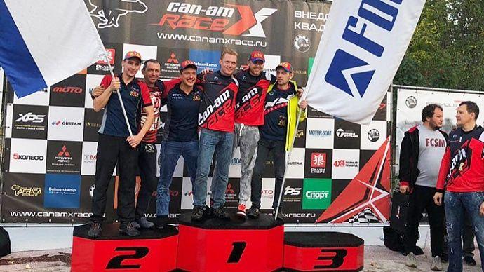 Прошёл 3 этап внедорожной квадросерии Can-Am X Race 2018