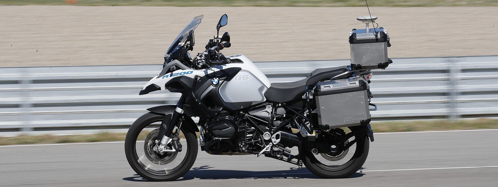 прототип беспилотного мотоцикла R 1200 GS