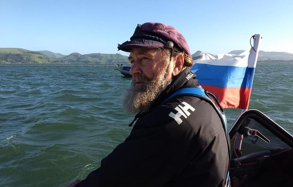 Федор Конюхов отправился в кругосветное путешествие на весельной лодке