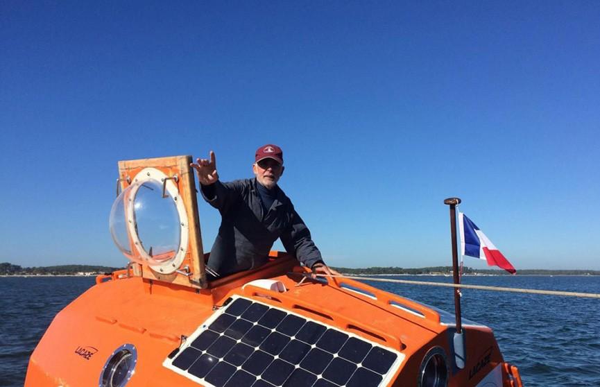 Француз планирует переплыть Атлантику в бочке