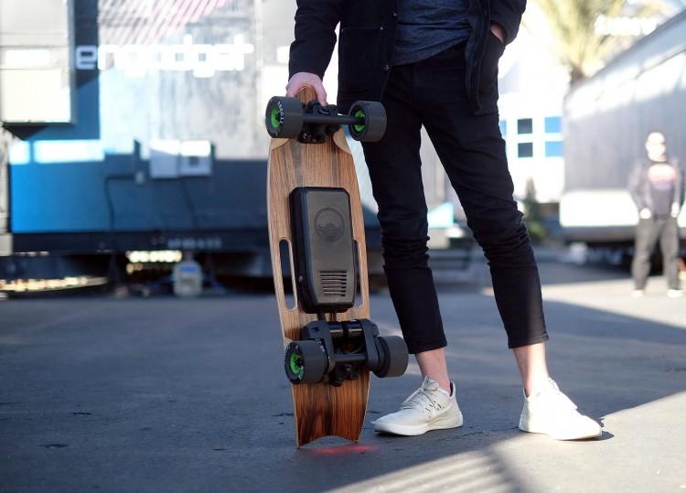 Электрический скейтборд Riptide R1X представили на CES 2019