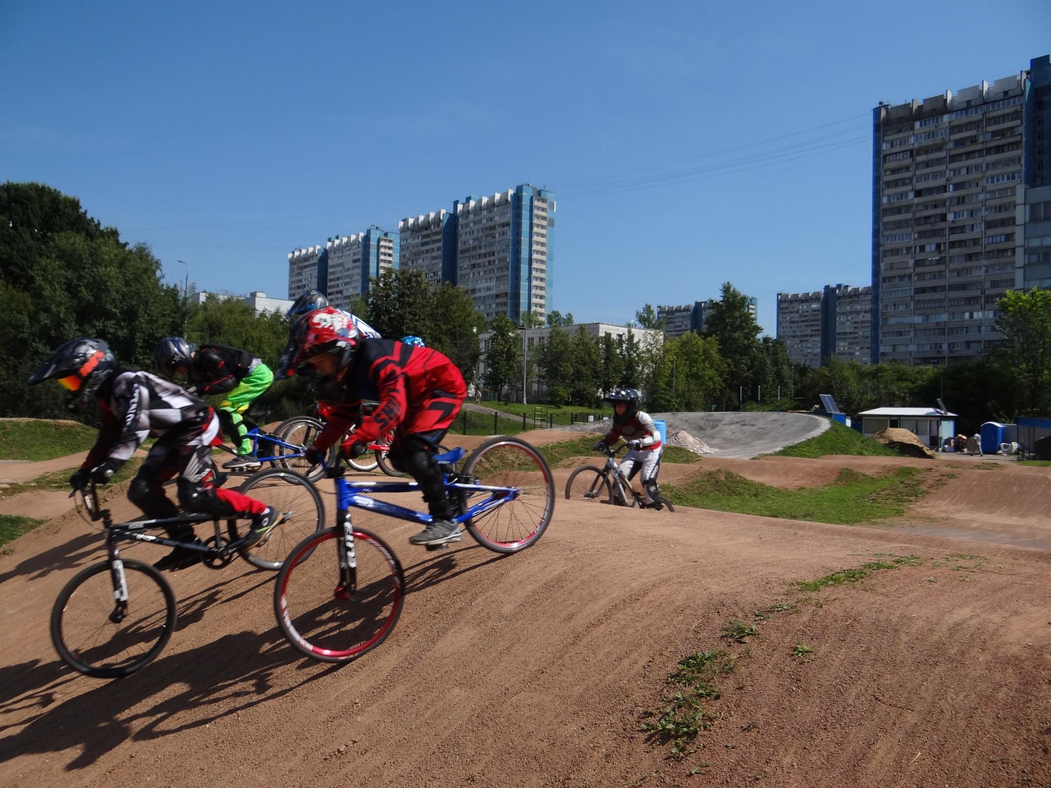 ВМХ-велодром в Ясенево
