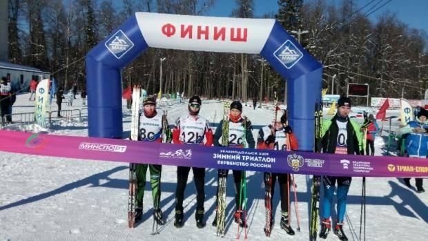 Первенство России по зимнему триатлону состоялось в Зеленодольске