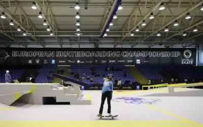 Первый в истории чемпионат Европы по скейтбордингу проходит в Нижнем Новгороде