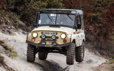 В Крыму впервые прошел этап гонки на внедорожниках Ladoga Trophy