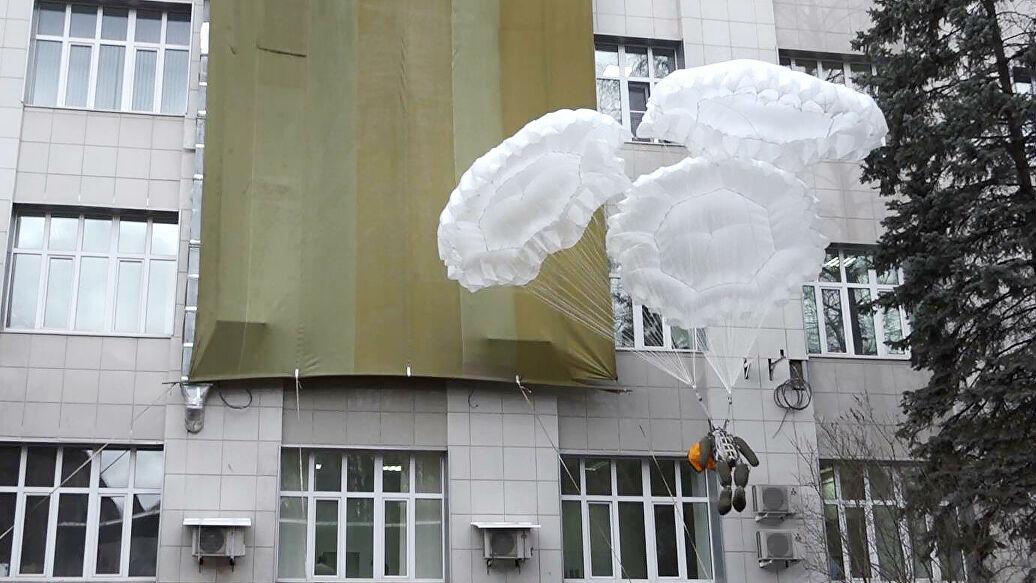 Парашюты «Шанс» для эвакуации из высотных зданий пойдут в серию